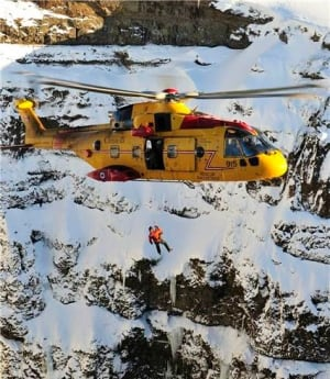 103 Search and Rescue Squadron on training mission in Iceland