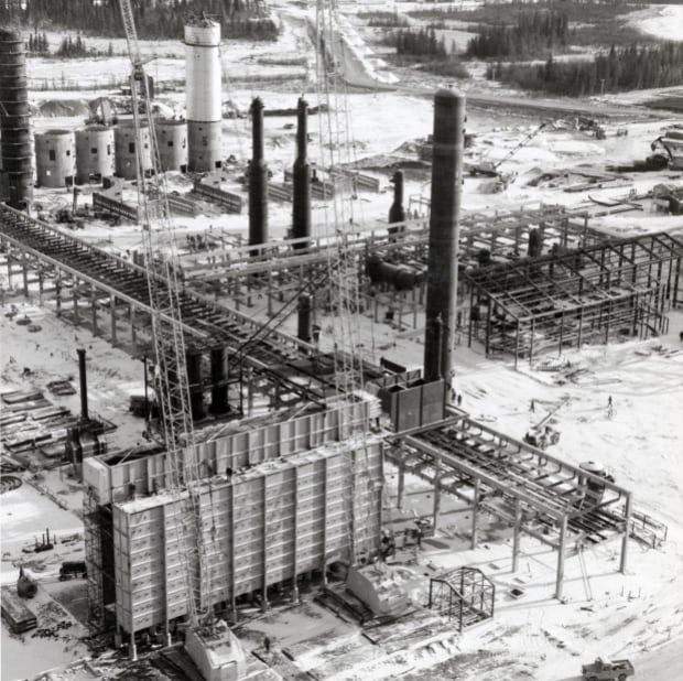 Great Canadian Oil Sands Plant