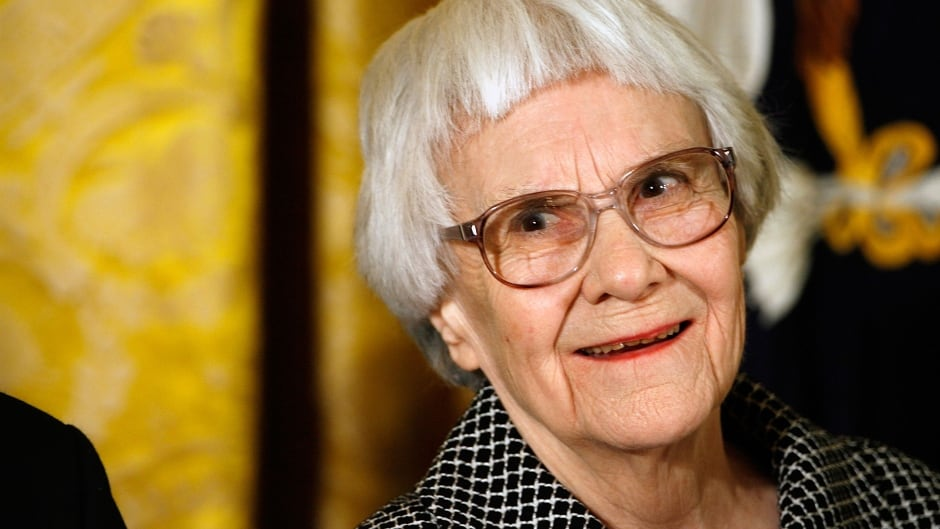 Pulitzer Prize-winning author of 'To Kill A Mockingbird', Harper Lee, before receiving the 2007 Presidential Medal of Freedom in Washington, D.C.