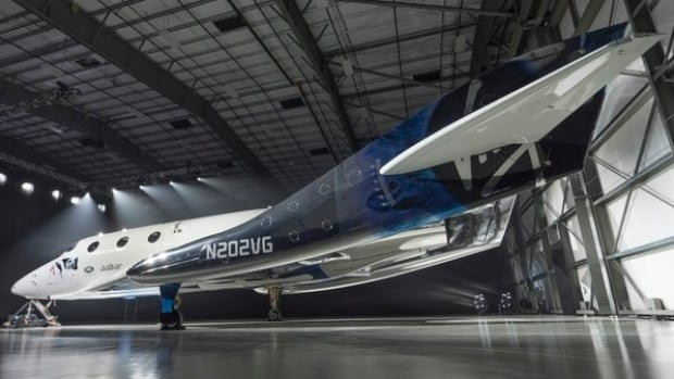 Virgin galactic unveiled images of its new rocket, SpaceShipTwo, on Twitter and Instagram on Feb. 19, 2016.