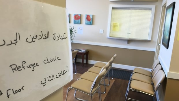 This refugee health clinic runs three days a week at the Sherwood Medical Centre.