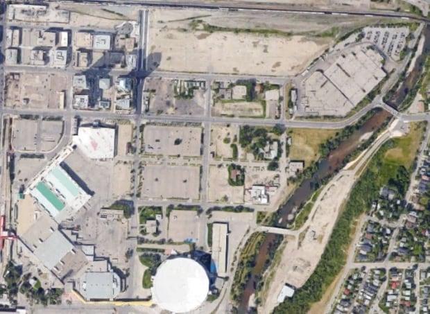 Calgary stampede lands
