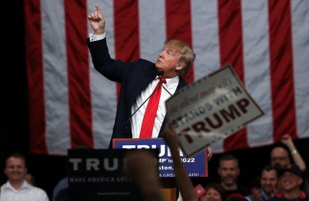 USA ELECTION DONALD TRUMP