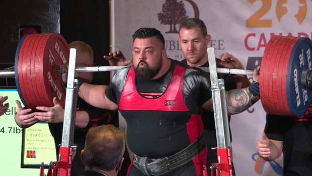 Almost 400 athletes competed at a national powerlifting meet held in Regina.