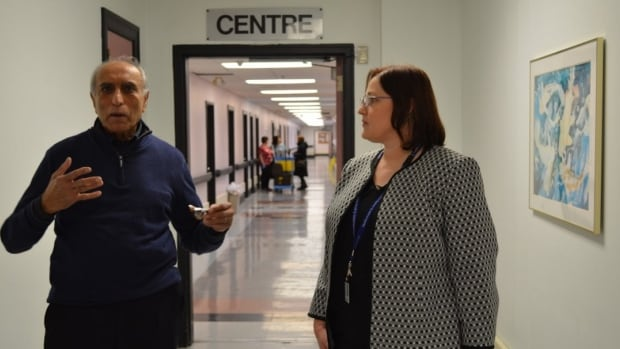 Isobel Keefe, director of mental health and addiction services for Eastern Health, and psychiatrist Nizar Ladha have been working together at the Waterford Hospital since the 1980s.