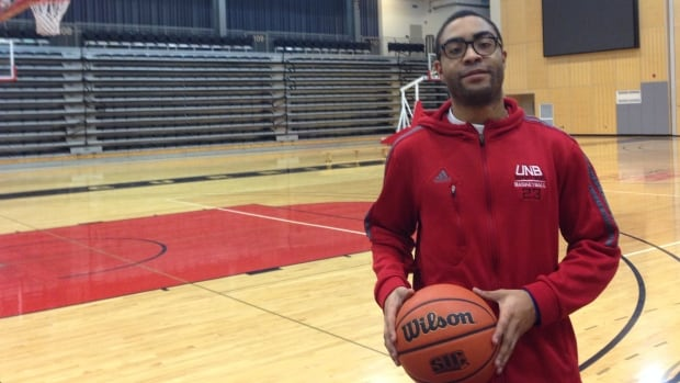 Javon Masters scored 40 points on Friday which helped him become the leading scorer in UNB basketball history.