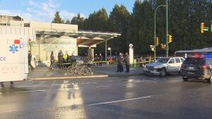 Langara SkyTrain station accident