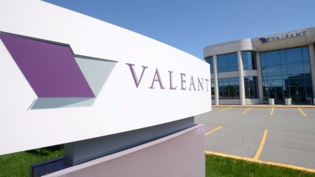 Shares of Valeant Pharmaceuticals slumped for the second straight trading day following a harsh report from an analyst at Wells Fargo.
