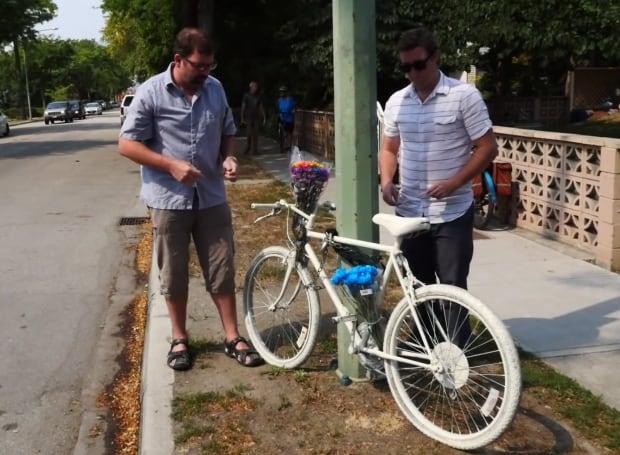 Kelowna ghost bike