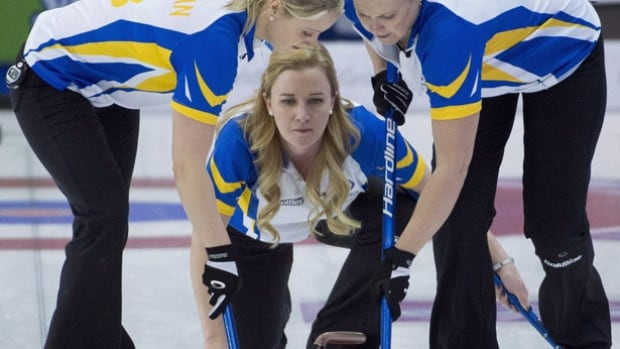 Alberta skip Chelsea Carey led her team to a win at the Scotties Tournament of Hearts in February, gaining the national curling title.