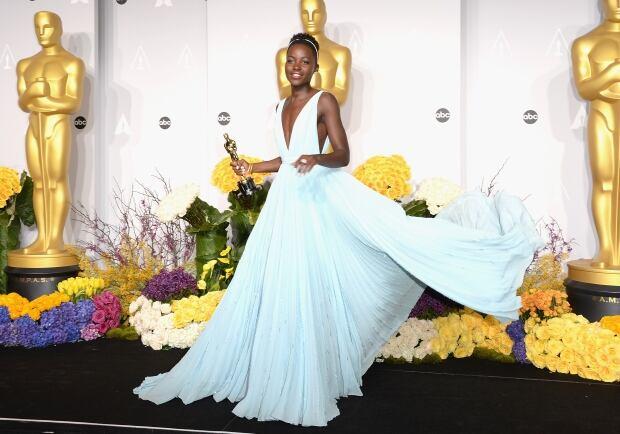 OscarsFashionHistory - Lupita Nyong'o 2014