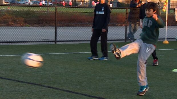 A new adapted soccer team in Surrey offers kids with disability time on the field.