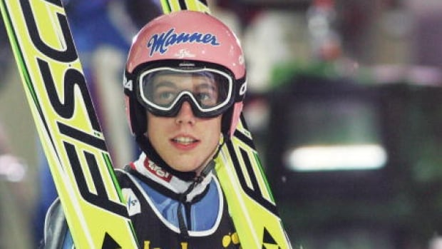 Austria's Lukas Mueller was partially paralyzed in a crash at the ski flying world championships on Jan. 13 in Tauplitz.