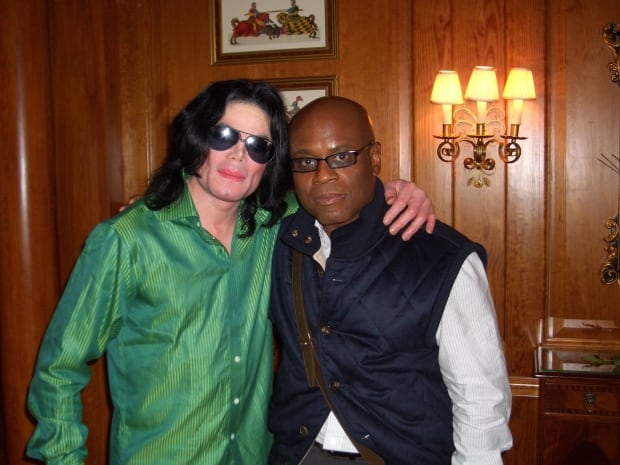 Michael Jackson and L.A. Reid