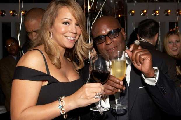 Mariah Carey and L.A. Reid