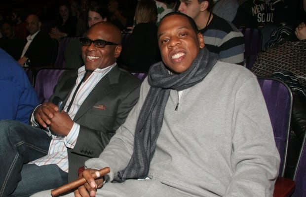 L.A. Reid and Jay-Z