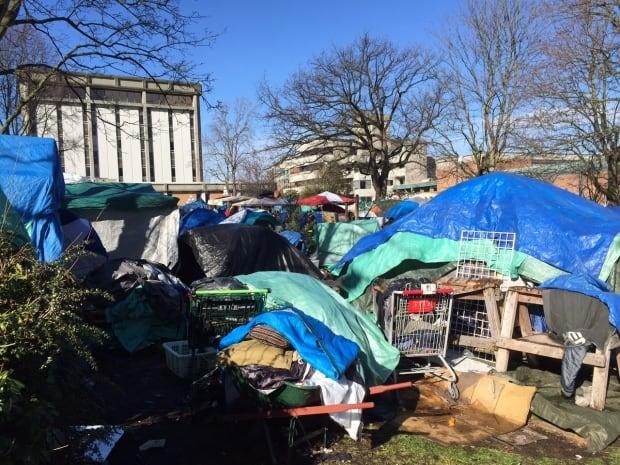 Victoria tent city