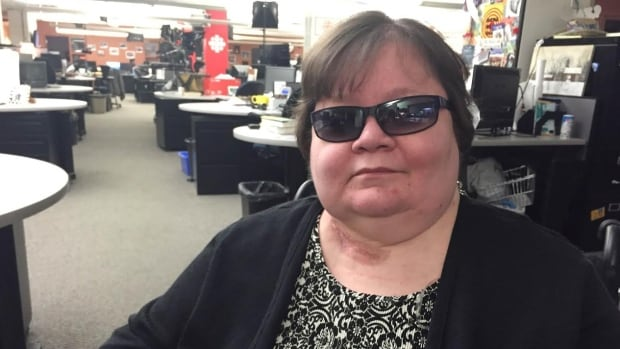 Christine Bonnett is blind and in a wheelchair. She was diagnosed with lupus, myasthenia gravis, and neuromyelitis optica. Unable to work, she receives less than $10,000 a year from Canada Pension Plan's long-term disability benefit.