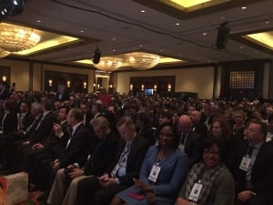 Crowd to hear Saudi oil minister Ali Al-Naimi speak in Houston
