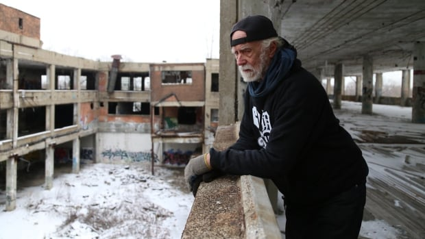 For the last nine years, Al Hill has lived alone at Detroit's sprawling, abandoned Packard automotive factory. The 71-year-old is about to lose his solitude as prospective new neighbours eye the property for a revival amid the city's economic comeback.