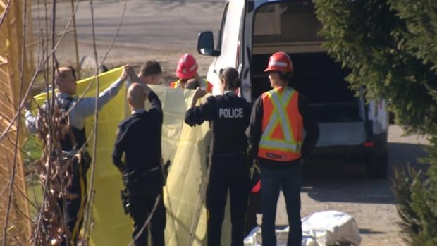 A worker is dead after a construction accident in Coquitlam