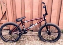 Robbed bike