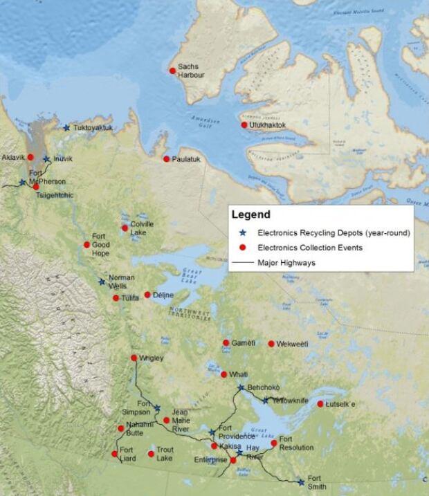 Depot map
