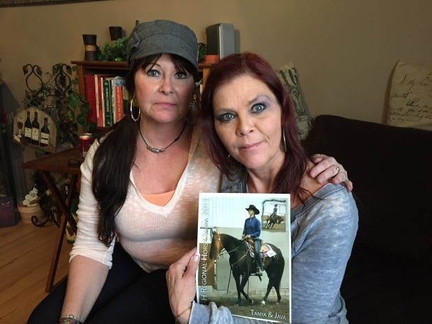 Deana Campbell and Lorraine Losier