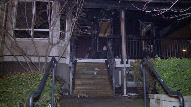 SURREY TOWNHOUSE FIRE