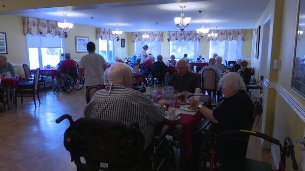 Residents at Whisperwood Villa