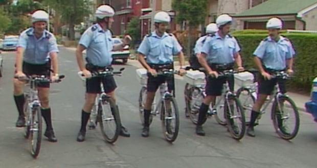 Toronto Police Bike Patrol