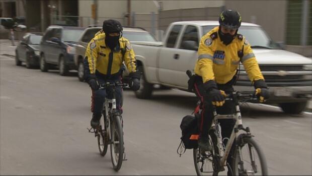 Toronto police bike patrol 2013