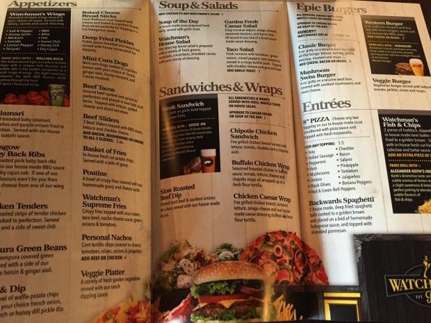 downturn deals watchman's menu