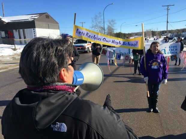 Reclaiming Our School Walk La Loche