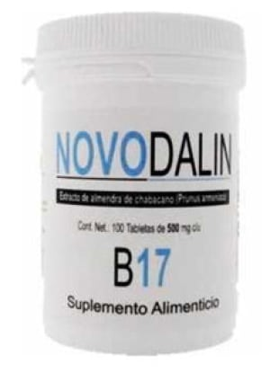 Novodalin B17 bottle