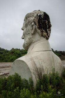 Howard Hankins' bust