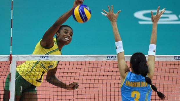 Two-time Olympic volleyball gold medallist Fabiana (Claudino) is among the 16 Brazilians named to participate in the 95-day Olympic torch relay leading to the opening ceremony August 5 at Maracana Stadium in Rio.