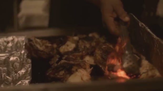 Jerk Chicken Rihanna Work video