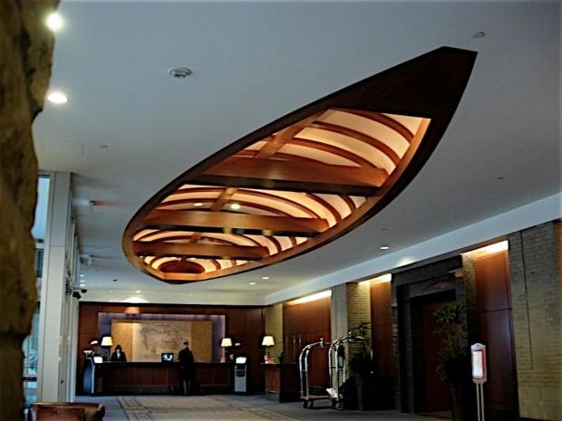 Canoe Hyatt Lobby