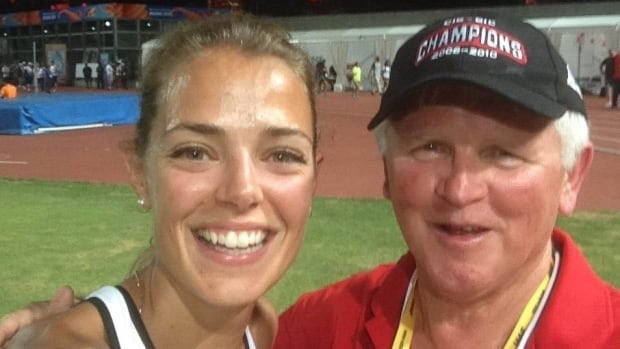 Melissa Bishop and Dennis Fairall have been a team for nine years. This summer they'll be heading to Rio de Janiero for their second Olympics.
