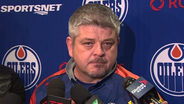 Todd McLellan says for the first time every player on the team is expendable.