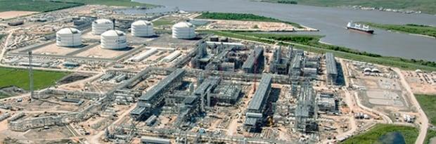 Sabine Pass LNG Terminal in Louisiana