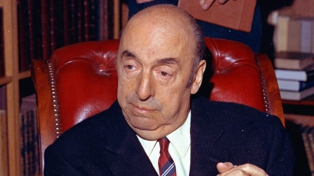 In this Oct. 21, 1971 file photo, Nobel Prize winning poet Pablo Neruda appears in Paris. Neruda died in the chaos following Chile's 1973 military coup, and his body was exhumed in 2013 to determine the cause of his death, which some people speculated was from poisoning.