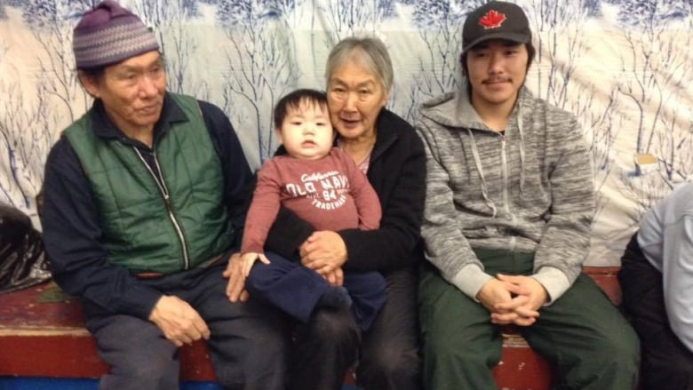 Jimmy Iqaluq and family