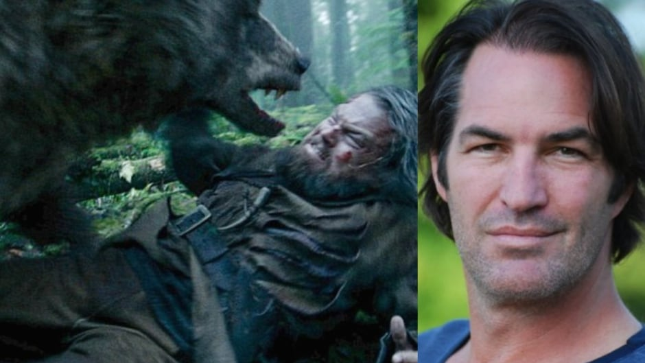 Glenn Ennis is the man behind the bear in The Revenant.