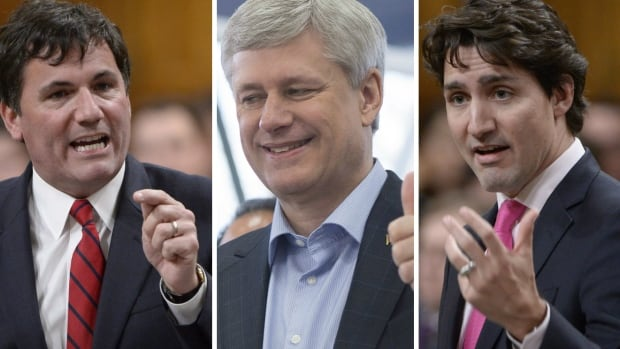 Former prime minister Stephen Harper made 33 government in council appointments in the dying days of his Conservative government. Government House leader Dominic LeBlanc (left) said the appointments were an 'abuse of power.' On Thursday, Prime Minister Justin Trudeau announced a new process for making similar appointments.