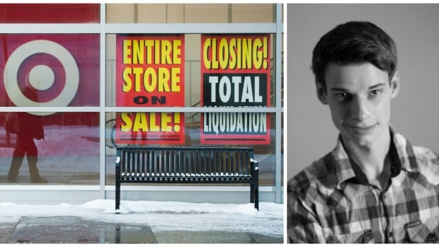 Robert Motum spent two years researching and producing a play about Target Canada's collapse and how it affected people who lost their jobs when they closed stores across Canada.