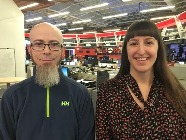 Tobey Steeves and Leanne Brown