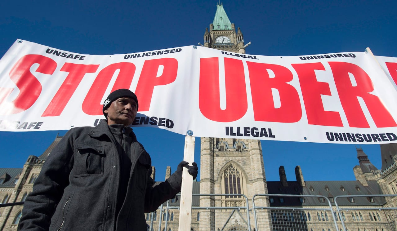 Rise of Uber forcing Canadian insurance companies to adapt
