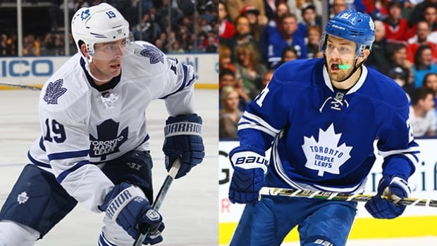 Toronto Maple Leafs forwards Joffrey Lupul and James van Riemsdyk have both been ruled out for the remainder of the season due to sports hernia and foot injuries.